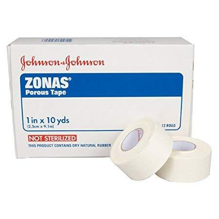 Johnson & Johnson Zonas Athletic Trainers Tape, Porous, 1