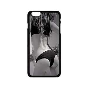 iPhone6 4.7 Case,Sexy Girl Sexy Hip High Definition Black and White Design Cover With Hign Quality Hard Plastic Protection Case