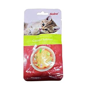 BIOLINE COOKED SALMON CAT TREATS 20G