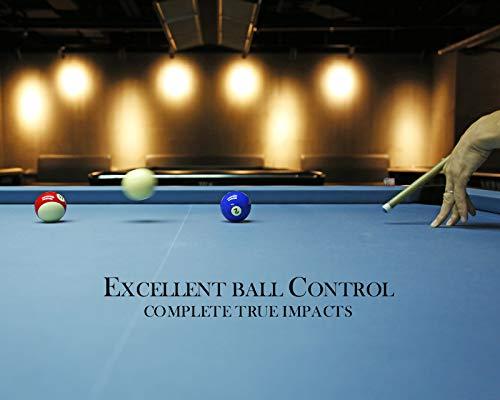 JAPER BEES Pearl Pool Balls Set Pool Table Billiard Balls Set of 16 Games New