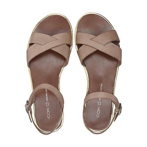 Cox Damen Trend-sandale Nude