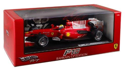 Mattel Hot Wheels Elite T6288 1:18 scale Formula 1 Ferrari F10 Bahrain GP Edition 2010 #7 Felipe -