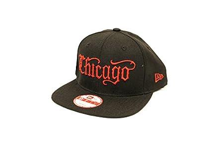 5dde9a1b7814a8 Amazon.com: Mister Cartoon New Era x MC/Chicago Hat: Sports & Outdoors