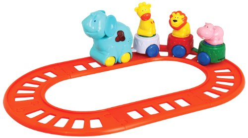 Navystar Musical Safari Set, Blue - Elephant Train