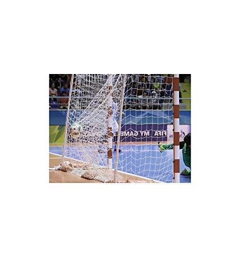 Juego de Redes Balonmano//f/útbol Sala 4 mm Polipropileno Sports Fevi