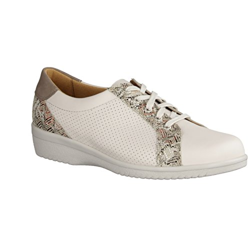 Ganter , Chaussures de ville à lacets pour femme blanc Weiß
