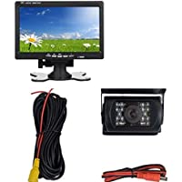 Lancevon - 7 inch LCD Car Monitor with backup camera, good for car rearview