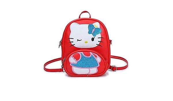 HPADR Mochila Infantil Niños Bolso para Niñas Dibujos Animados Cat ...