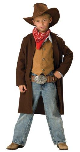 InCharacter Costumes, LLC Boys 2-7 Rawhide Renegade Duster