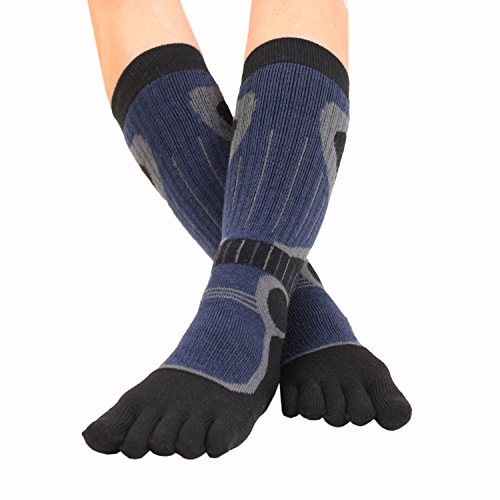High Socks Ski F Black amp; 7 M Knee Blue 5 3 TOETOE SPORTS 5 5 6 Toe wXqSnt5