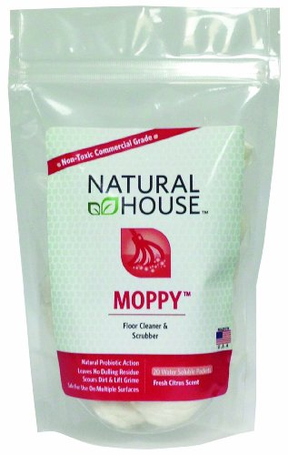 Moppy: Floor Cleaner and Scrubber 20 Ct