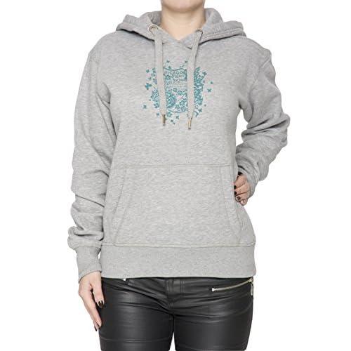 Chicago Gris Algodón Mujer Sudadera Sudadera Con Capucha Pullover Grey  Women s Sweatshirt Pullover Hoodie 85% ead7728f7862