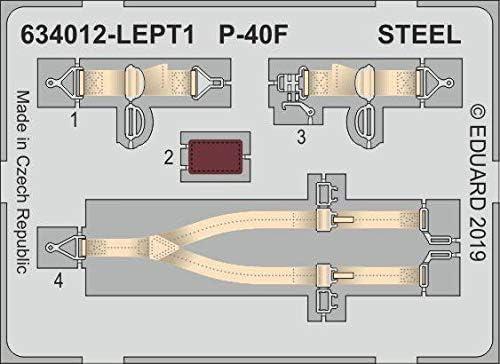Eduard EDB634012 1:32-P-40F L K Model Kit Brassin Various