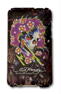 Beautiful Ghost Ed Hardy Icing Tattoo Case for iPod Touch 2 2nd / 3 3rd Generation Beautiful Ghost Tattoo