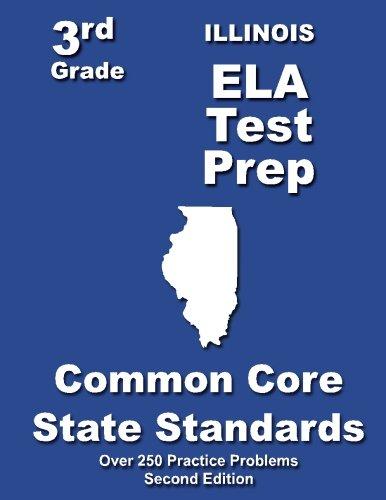 Download Illinois 3rd Grade ELA Test Prep: Common Core Learning Standards PDF