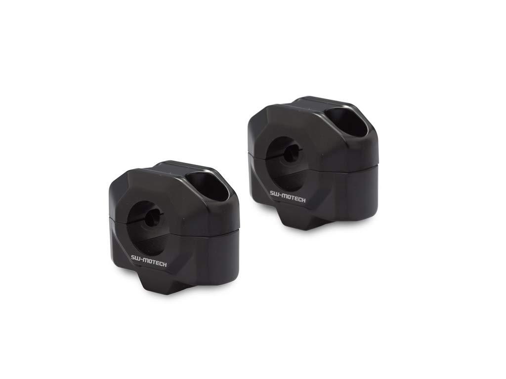 H/öhe 30 mm Lenkererh/öhung f/ür /Ø 22 mm Lenker schwarz.