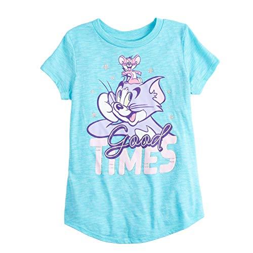 Jumping Beans Little Girls' 4-12 Tom & Jerry Good Times TEE 4 Blue