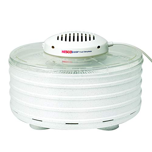 NESCO FD-37A, Food Dehydrator, White Speckled/Marbled, 400 watts