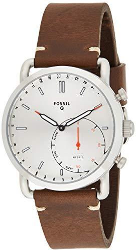 Fossil Hybrid Smartwatch Commuter Dark Brown Leather - FTW1150