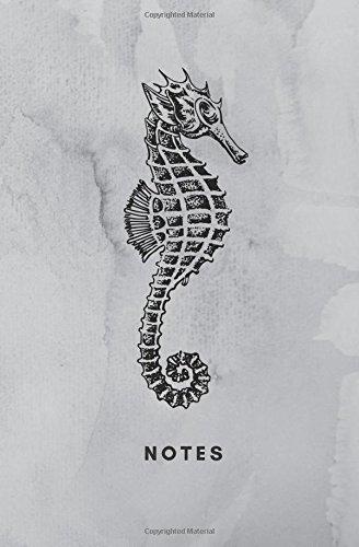 Notes: Seahorse Book, Seahorse Notebook, Seahorse Journal, Seahorse Log (Note Seahorses)
