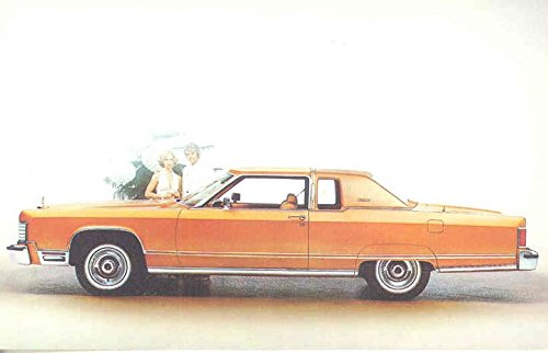 1977-lincoln-continental-town-coupe-original-factory-postcard