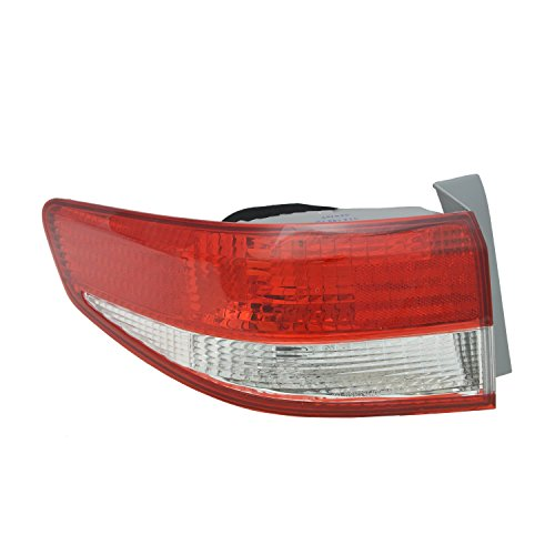 TYC 11-5816-01-1 Honda Accord Left Replacement Tail Lamp