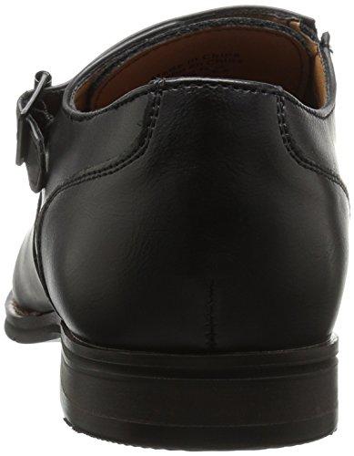 Chiamalo Primavera Mens Striano Tuxedo Loafer Nero Sintetico