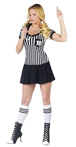 Ponce (Mens Plus Size Referee Costume)