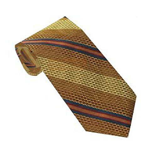 Robert Talbott Desert Sand & Brown Stripe Best of Class (Desert Sand Silk)