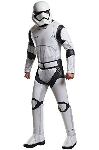 Adult Storm Trooper Dress Costumes (Star Wars: The Force Awakens Deluxe Adult Stormtrooper Costume, Multi, Standard)
