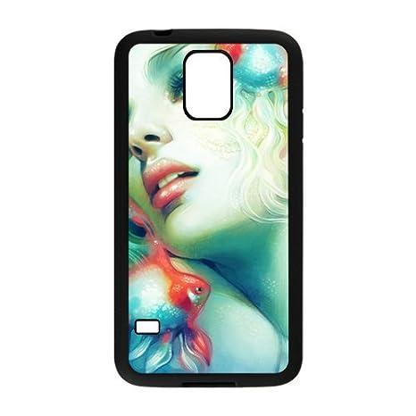Custom la Sirenita Samsung Galaxy S5 silicona Carcasa Funda ...