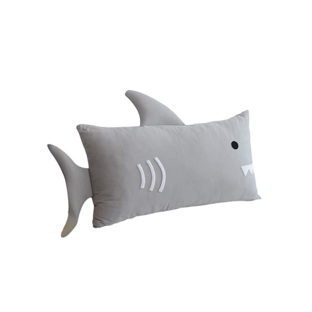 DUHUI Rückenstütze, Keilkissen für Bett und Couch Lesekissen, lumbale Kissen, Das perfekte Sofa Kissen, 110x60cm (Farbe   grau02)