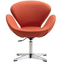 Ceets Raspberry Adjustable Leisure Chair, Orange