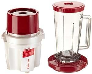 Girmi TR200 - Licuadora (De plástico, Rojo, Color blanco, AC, 50 Hz, 230 - 240V)