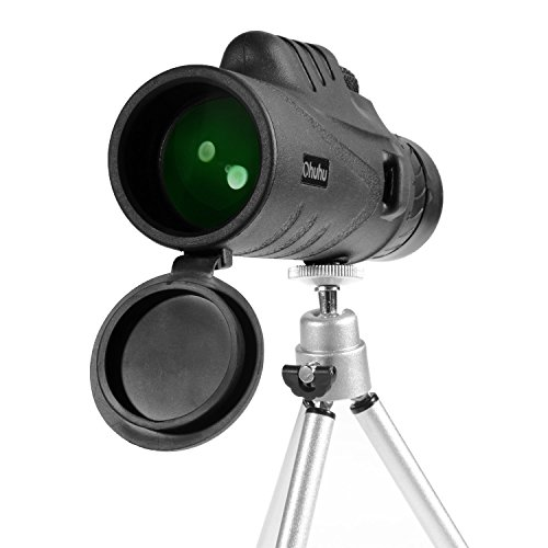 Ohuhu Waterproof Monocular Sightseeing Surveillance