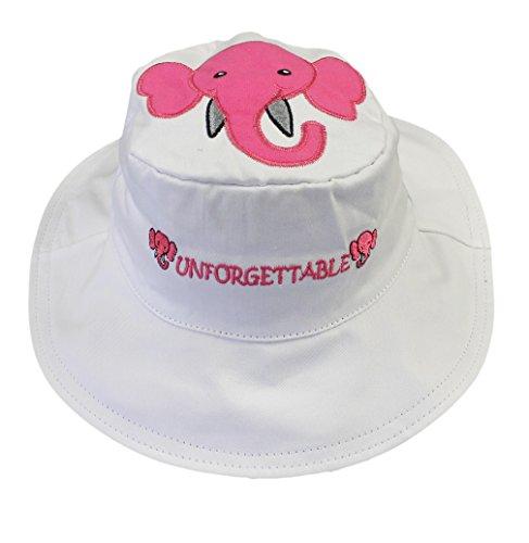 Luvali Convertibles LCKDS4LEM Elephant Mouse Reversible Kids Hat (Reversible Elephant)