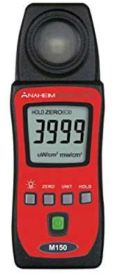Anaheim Scientific M150 Mini UV-AB Meter UV Detector Spectrum 290-390 nm