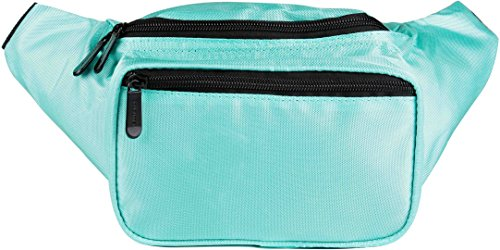 SoJourner Bags Fanny Pack - Classic Solid Bright Colors - Gold Construction Solid