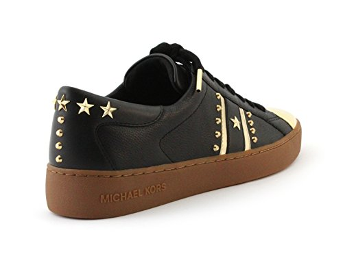 Sneakers Michael Kors Donna Frankie In Pelle Metallizzata A Righe (9.5)