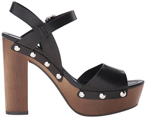 Indigo RD. La mujer Kiana sandalias de plataforma Negro