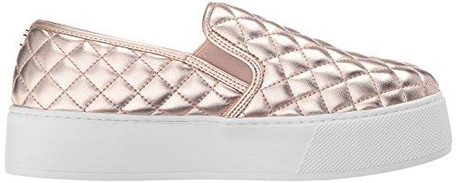 Steve Madden Womens Ecentrcqp Fashion Sneaker Rose Goud