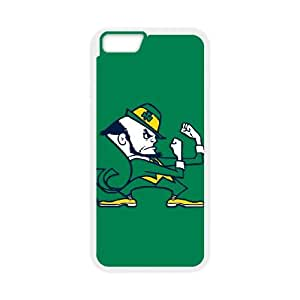 Notre Dame Fighting Irish iPhone 6 Plus 5.5 Inch Cell Phone Case White DIY Gift zhm004_0447325