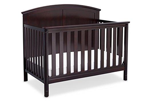 Delta Children Somerset 4-in-1 Crib, Dark Chocolate