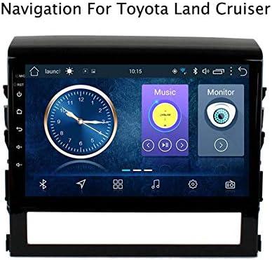 トヨタランドクルーザー2016-2018のGPSナビゲーション簡単なインストールサポート受信機ビデオプレーヤーFM /ラジオWIFI/Bluetooth/TF/USB/AUX/ステア