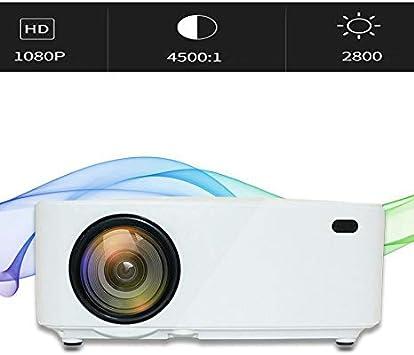 VBESTLIFE Proyector LED portátil , 1080P 32-120in 30000 horas Mini ...