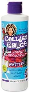 New - Aleene's Collage Pauge Instant Decoupage Matte-8 O by WMU