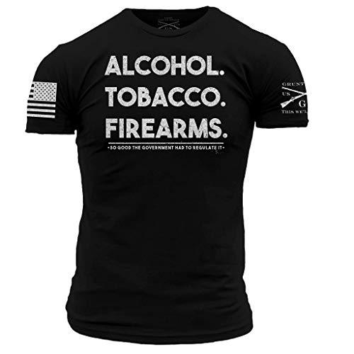 Grunt Style ATF 2.0 Men's T-Shirt, Color Black, Size X-Large
