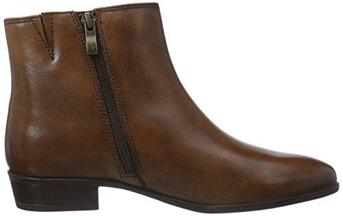 Caprice 25306 - botas de cuero mujer marrón - Braun (COGNAC 305)