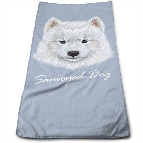 - Uanrel Samoyed Dog Personalized Towels Gym Towel 100% Polyester Microfiber with High Absorbency Perfect for Home, Bathrooms, Spa, Pool and Gym