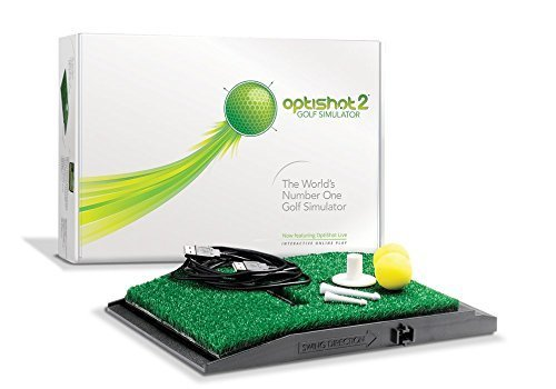 OptiShot 2 Golf Simulator with FREE Additional Foam Practice Balls